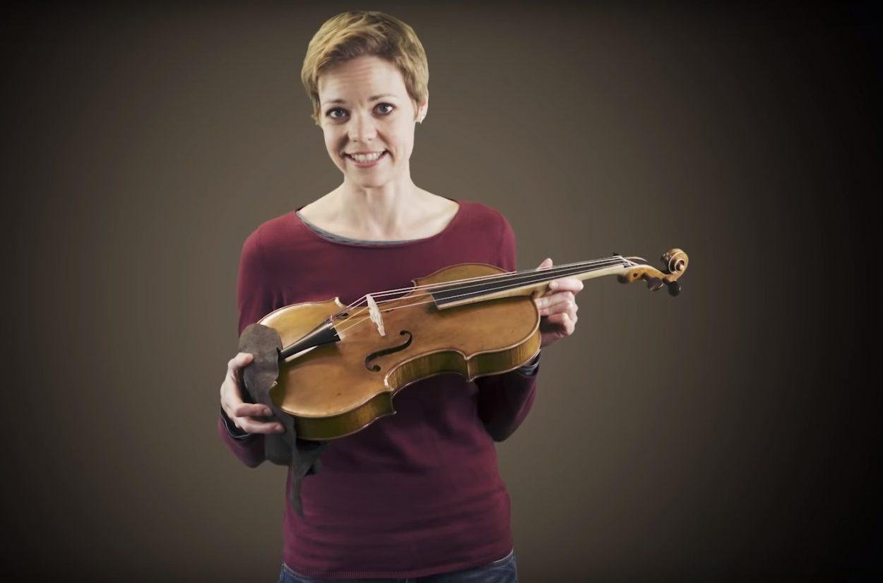 Principal Viola Simone Jandl introduces her instrument