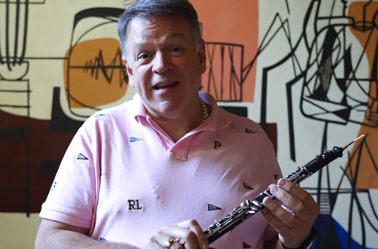 Guest oboe Nicholas Daniel introduces us to Léon Goossens' famous oboe.