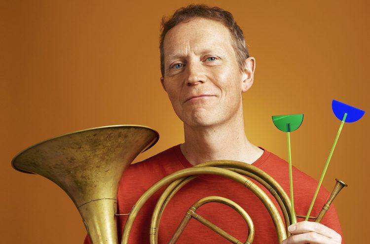Principal horn Roger Montgomery