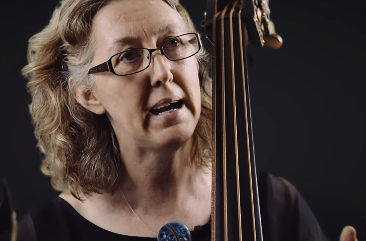 Double Bassist Cecelia Bruggemeyer introduces the baroque double bass