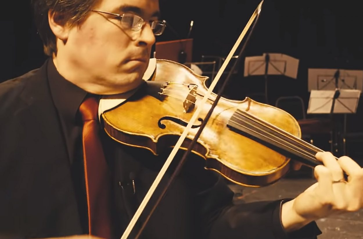 Violin Huw Daniel introduces us to the Baroque violin