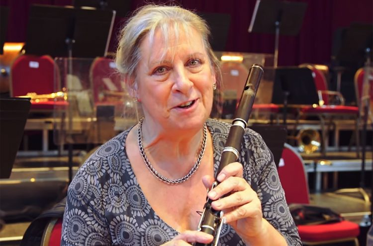 Lisa Beznosiuk on the Flute in Bruckner