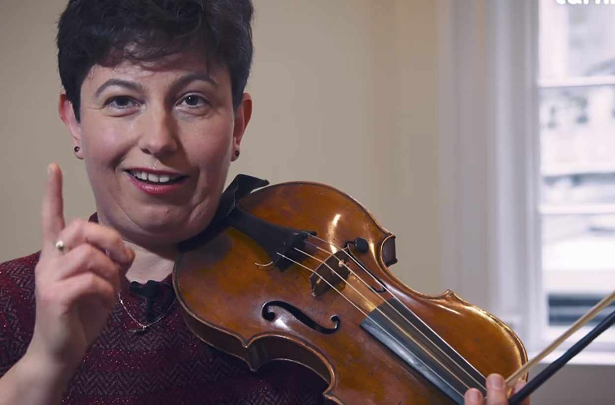 Leader Kati Debretzeni talks about Vivaldi's The Four Seasons in depth