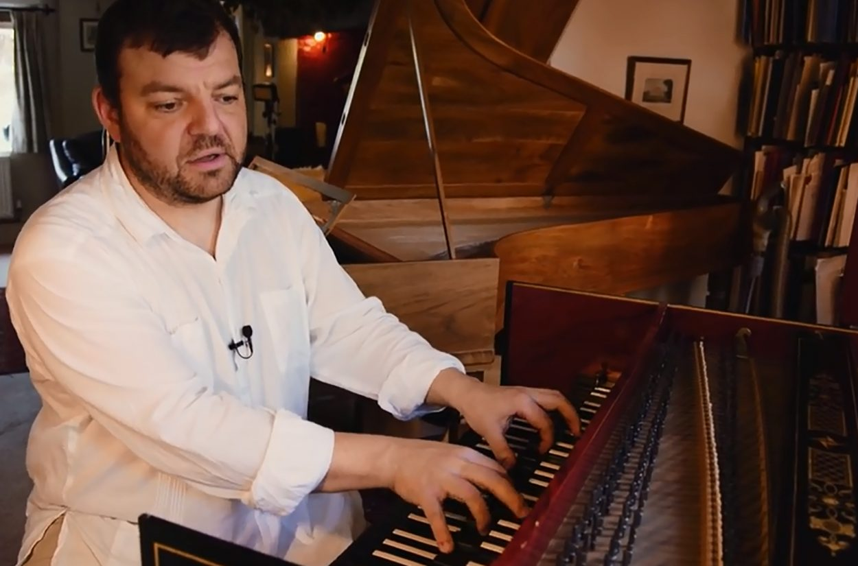 Steven Devine, Principal Keyboard, tells us all about his German harpsichord.