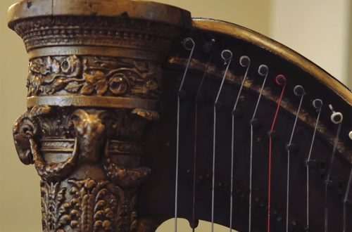 Introducing Mozart's Single Action Pedal Harp