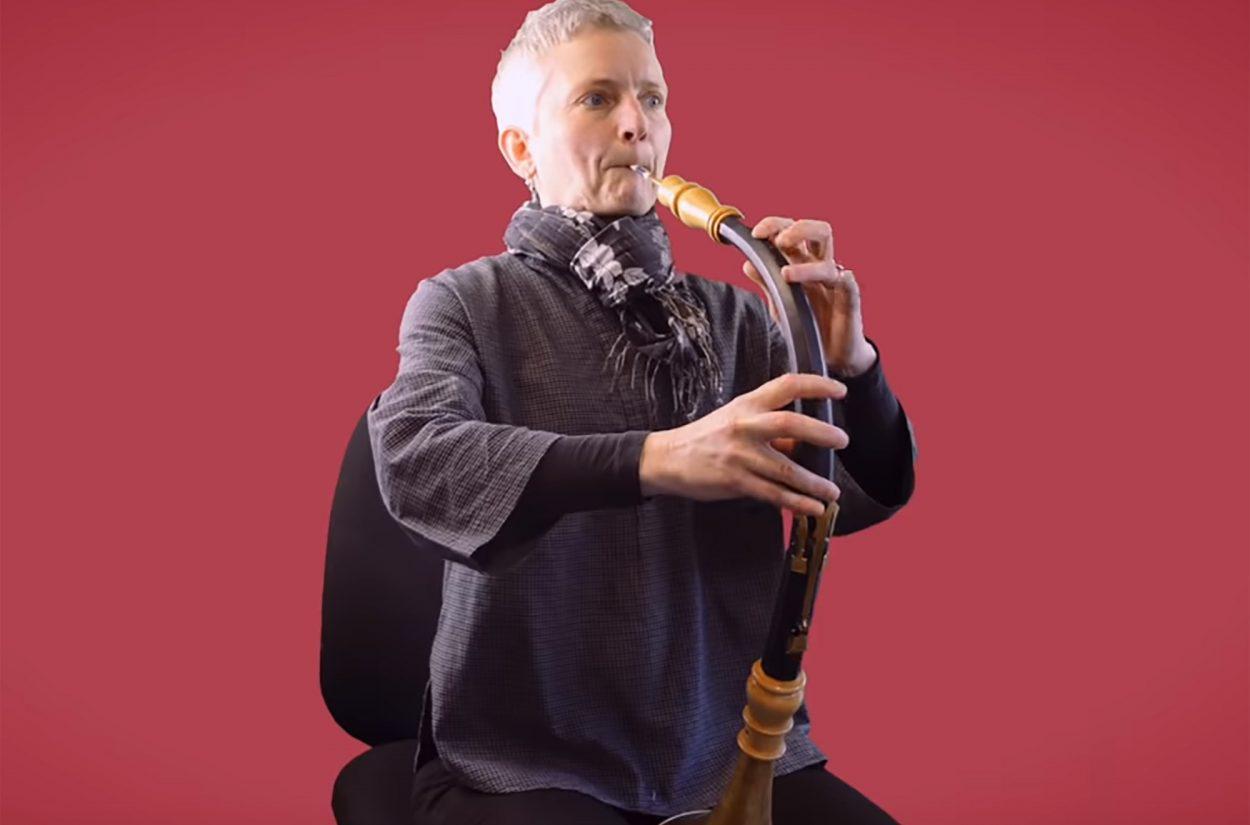 Principal Oboe Katharina Spreckelsen introduces the oboe da caccia