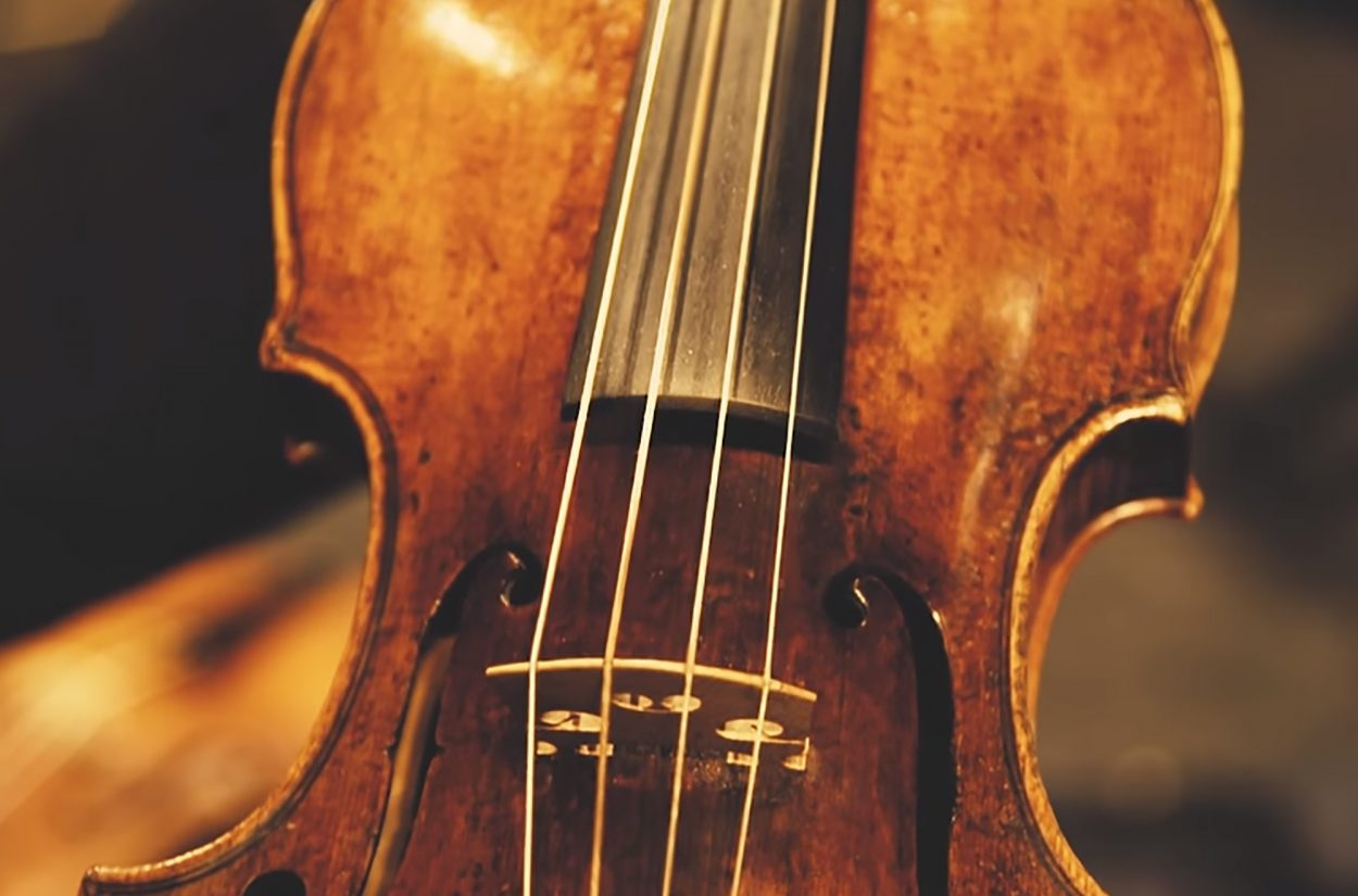 Violin Huw Daniel introduces us to the piccolo violin