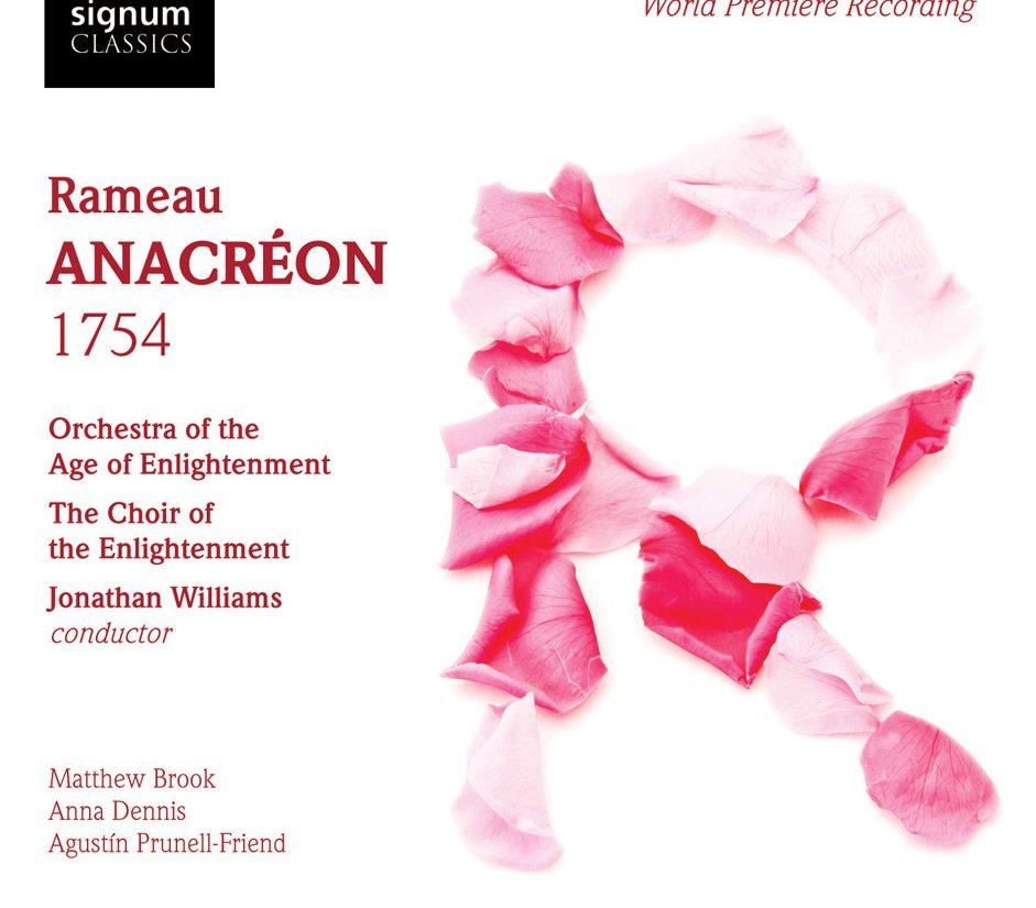 Ramaeau's Anacréon CD cover