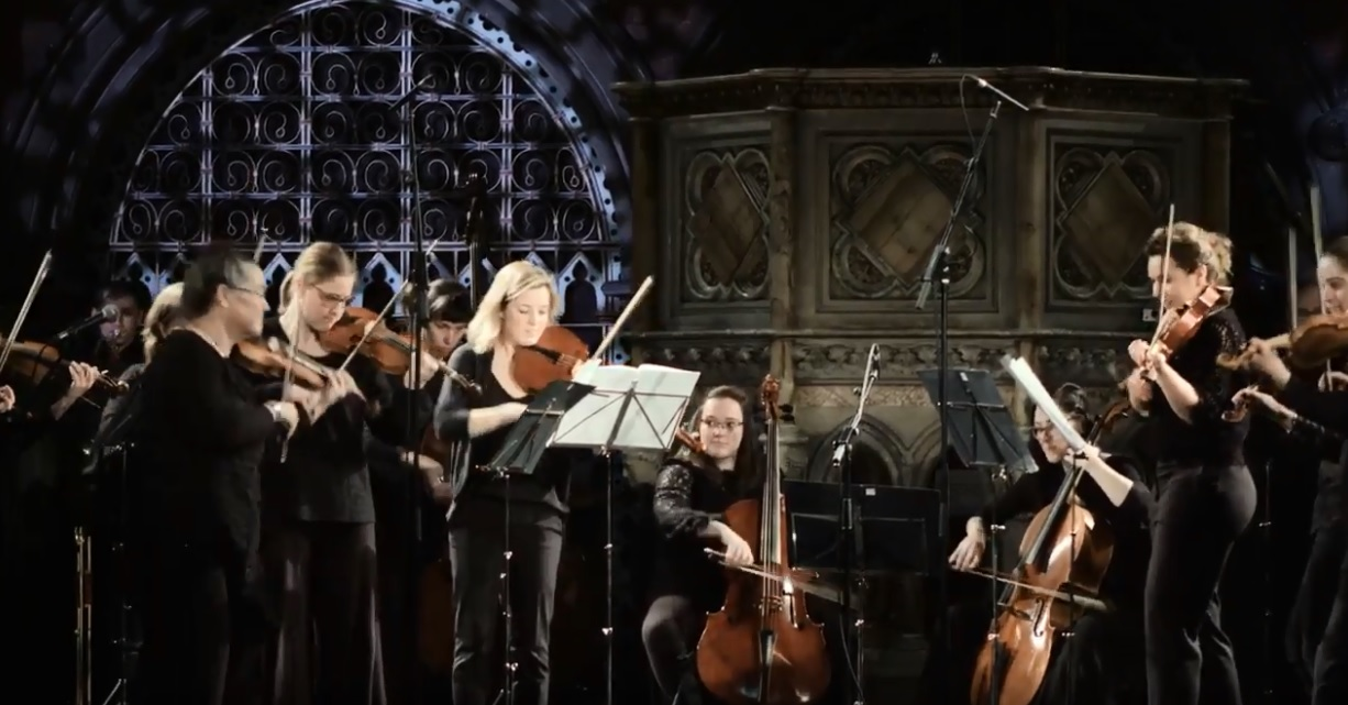 The 2018 OAE Experience Ensemble performs Haydn Symphony No. 101 (Fourth movement) at Daylight Music, Union Chapel