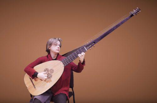 Elizabeth Kenny introduces the Baroque Theorbo