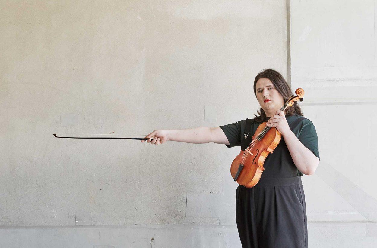 Jam Orrell, viola, OAE Experience Scheme