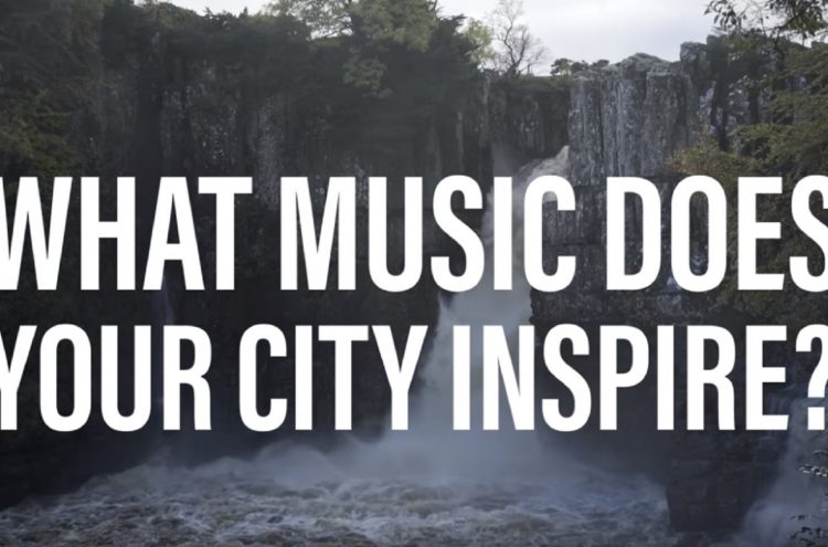 A snippet of our film showing the Musical Landscapes of County Durham