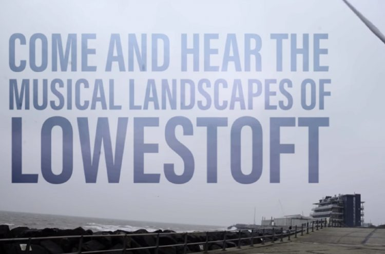 A snippet of our film of the Musical Landscapes of Lowestoft
