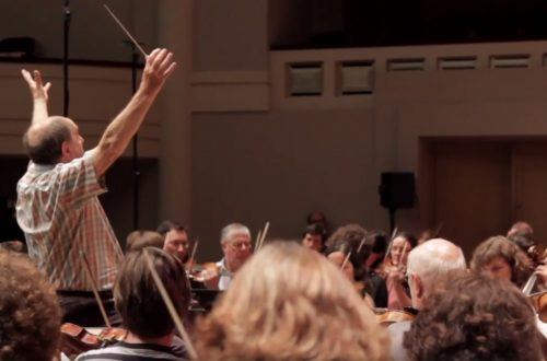 In Rehearsal: Sir Roger Norrington Conducts Berlioz