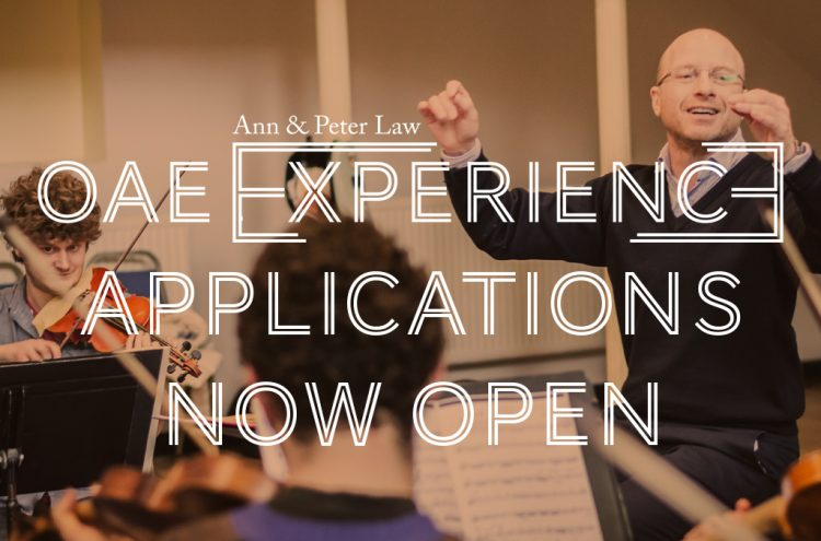 2020 Ann and Peter Law OAE Experience