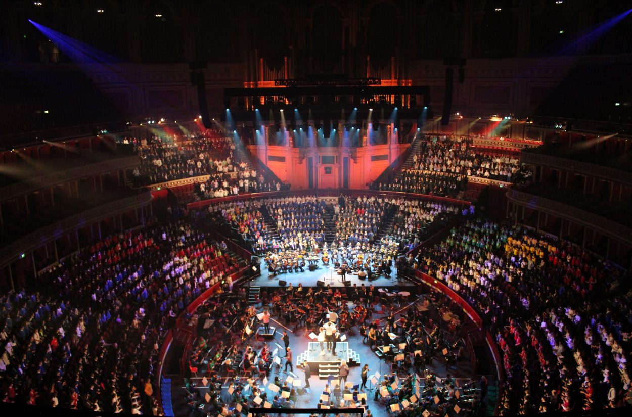 Wondrous Machine at the Royal Albert Hall