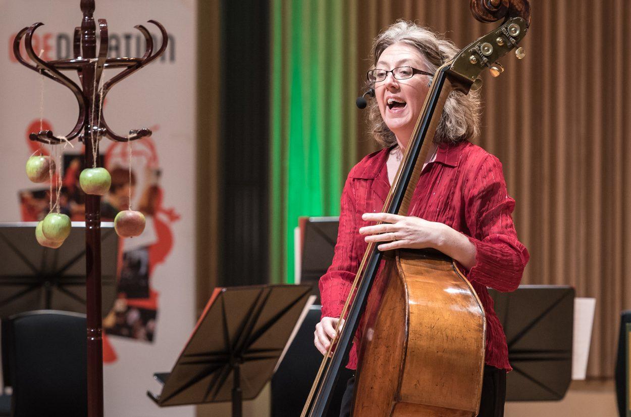 Double bass Cecelia Bruggemeyer