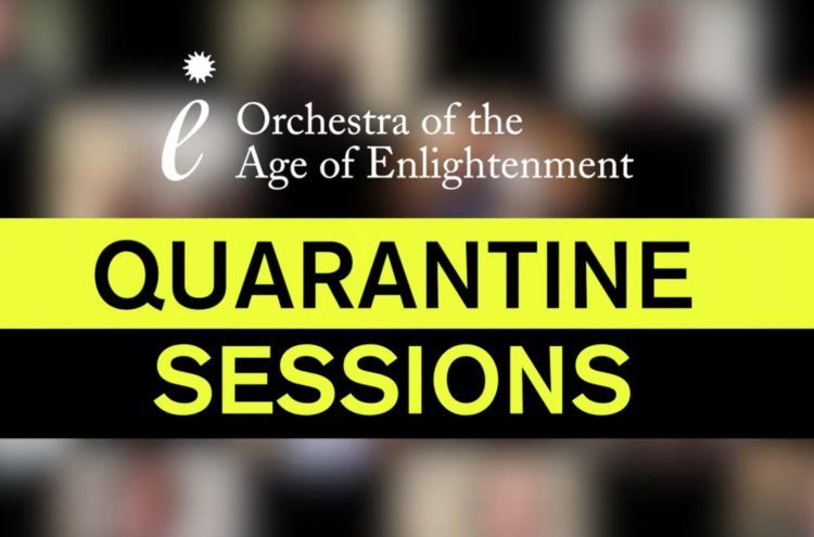 Quarantine Sessions: Bach's Air on a G String