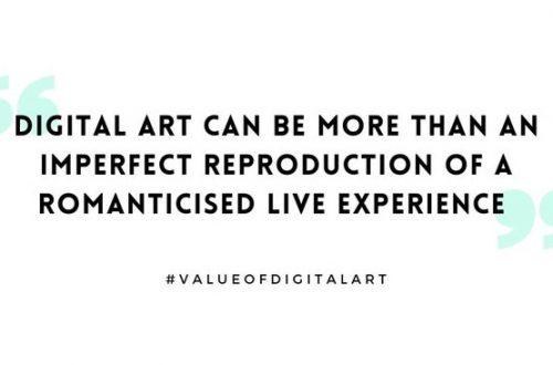 More than a Record: The Cultural Value of Digital Art