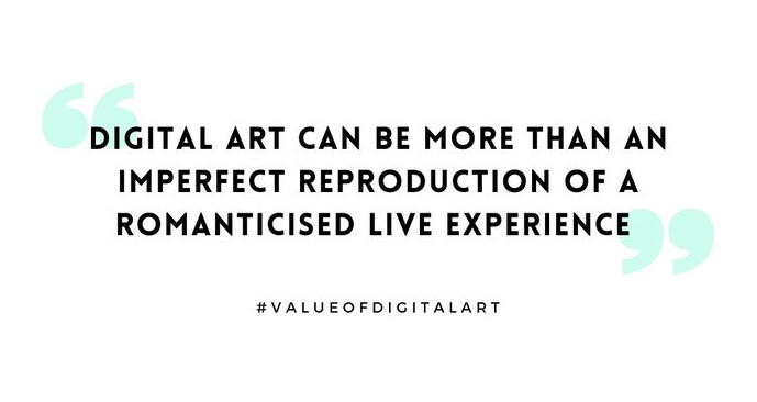 More than a Record: The Cultural Value of Digital Art