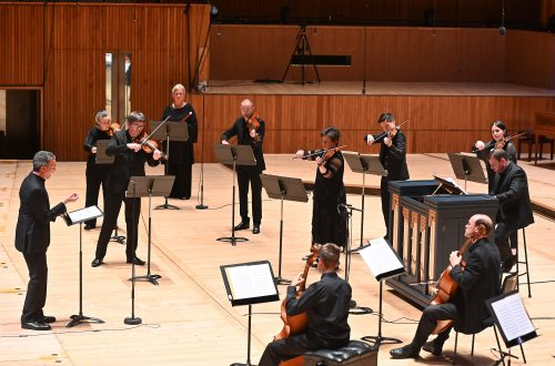 Roderick Williams Directs Bach and Handel