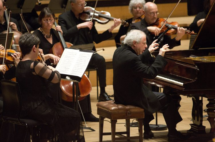 Sir ANDRáS SCHIFF and ORCHESTRA OF THE AGE OF ENLIGHTENMENT release Brahms piano concerto recordings