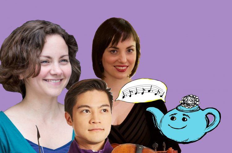Tea with Netty #18: OAE violins Henry Tong, Dominika Feher and Nia Lewis