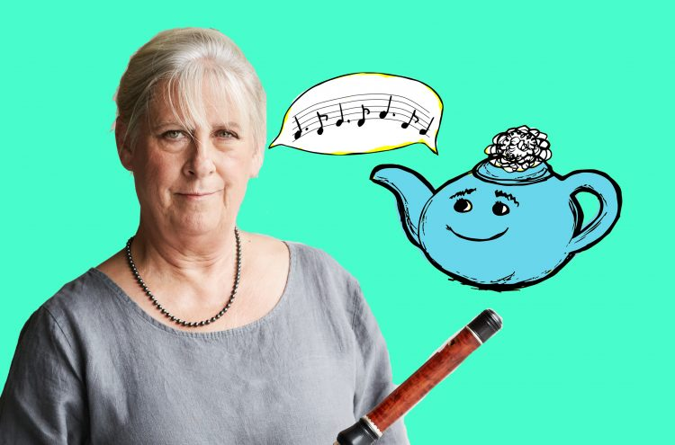 Tea with Netty #17: OAE Founding Member and Principal Flute Lisa Beznosiuk